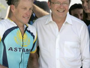 CYCLING-AUS-TOUR-ARMSTRONG