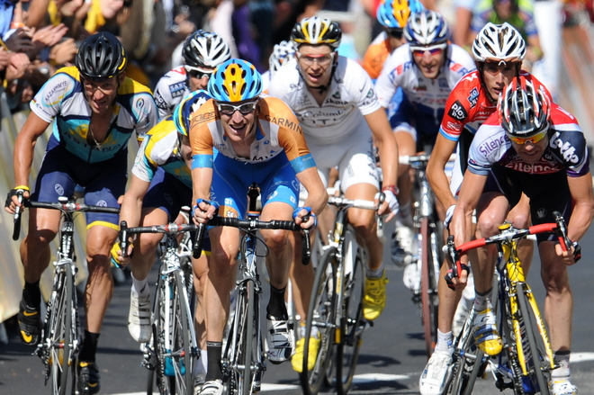 CYCLING-FRA-TDF-2009-ANDORRA-LEADERS