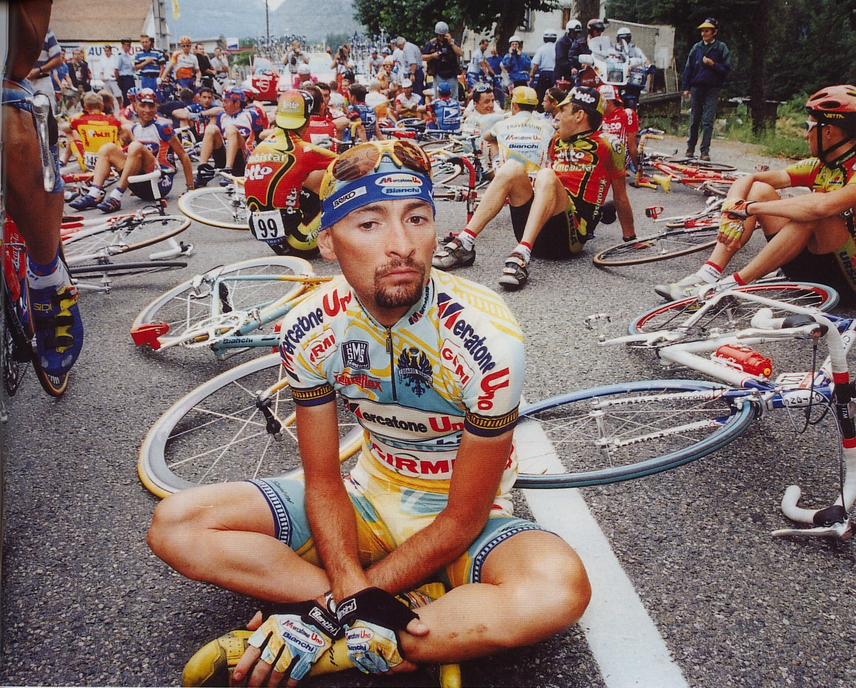 The legendry Marco Pantani
