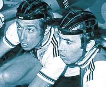 Patrick Sercu ed Eddy Merckx, due amici insuperabili sui velodromi