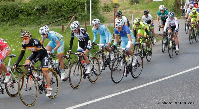 Photo Anton Vos from Astana BePink Women Team facebook page