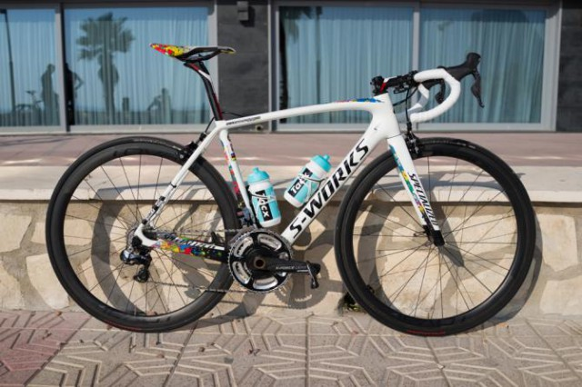 Specialized S-Works Tarmac  Михала Квятковского.  Photo: © Chris Riekert