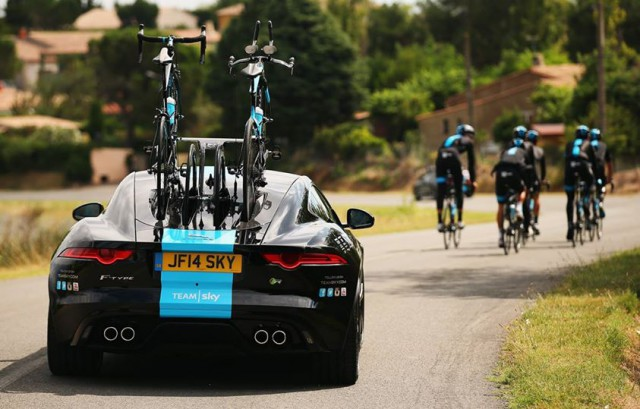 Photo from Team Sky Facebook