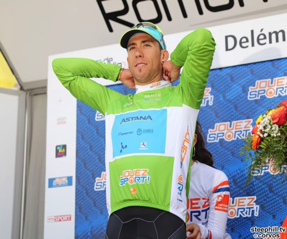 Delémont - Swiss - wielrennen - cycling - cyclisme - radsport - Omar FRAILE MATARRANZ (Spain / Team Astana)  pictured during the 72nd Tour de Romandie (2.UWT) stage 1 from Fribourg to Delémont (166.6 KM) - photo René Vigneron/Cor Vos © 2018