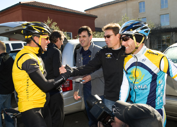 Astana Training Camp, Feb. 2009