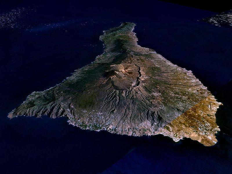 Фото острова Тенерифе - видно, что есть где потренироваться
