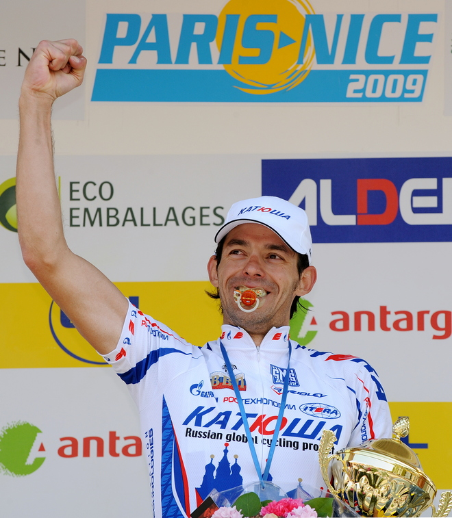 CYCLING-FRA-PARIS-NICE-PODIUM
