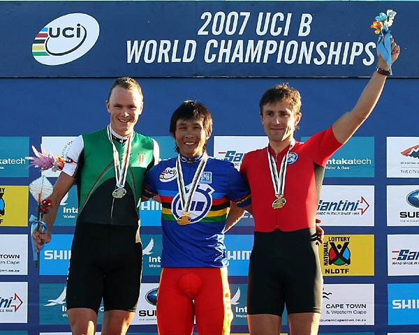 Championnats du Monde UCI B 2007