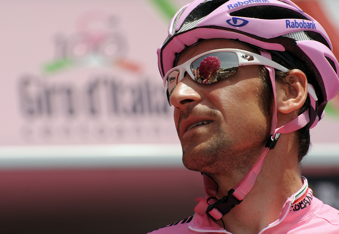 CYCLING-ITA-GIRO-PODIUM