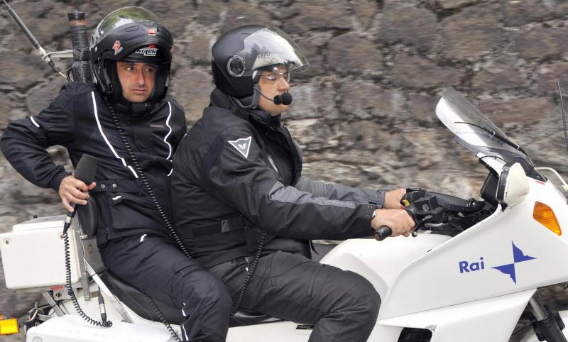 Паоло Беттини в качестве комментатора гонки