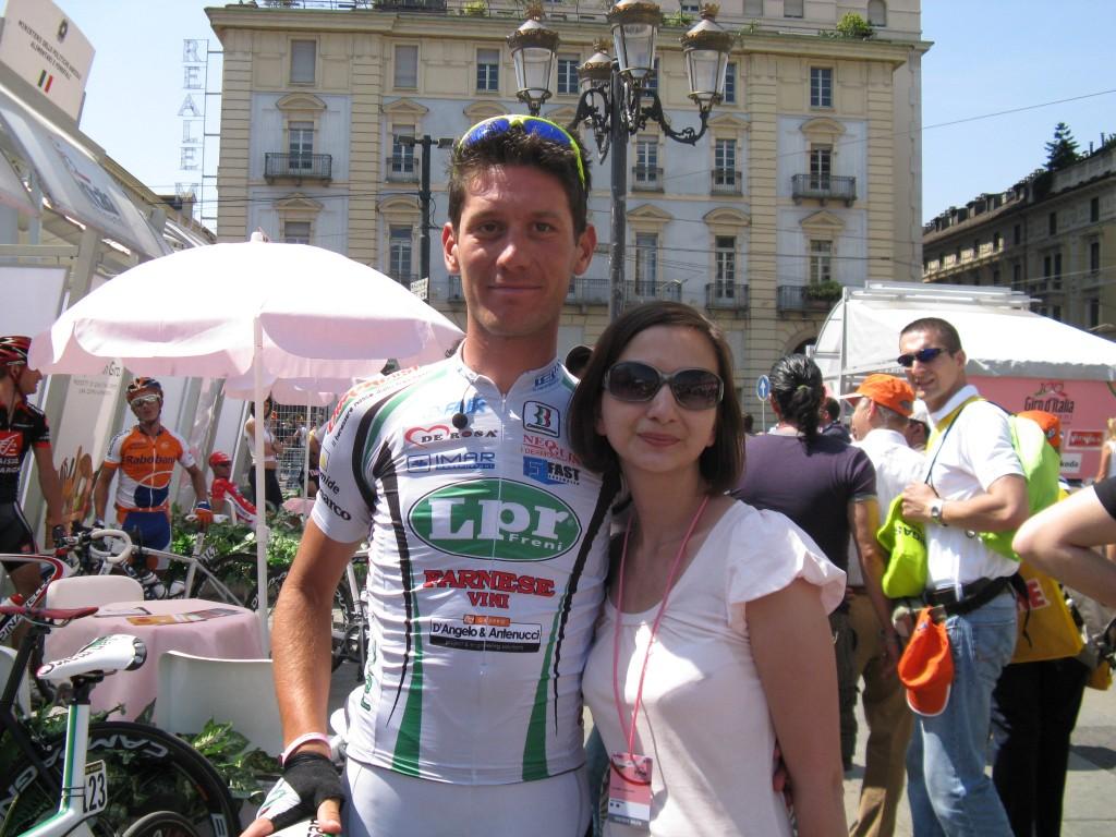 Габриэле Бозизио - третья звезда ЛПР и само дружелюбие :)