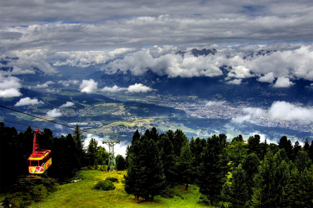Вид с горы Patscherkofel (2250м)