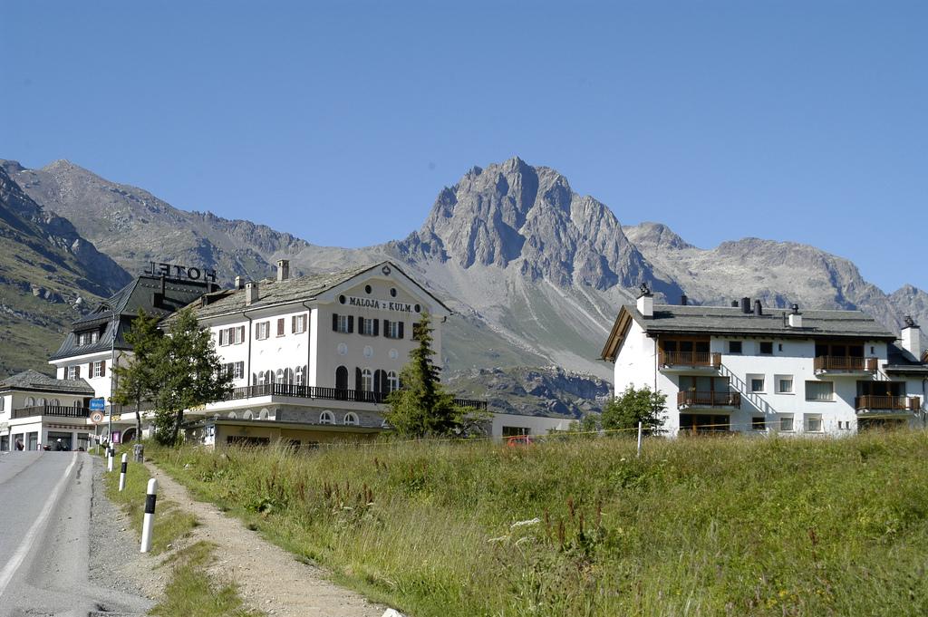 Вид на Passo Maloja