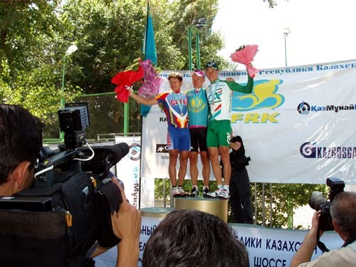Men's Elite National Road Race podium