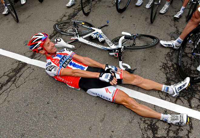 "Чемпион Норвегии Арвесен - ""А если я упаду на этапе?..."""