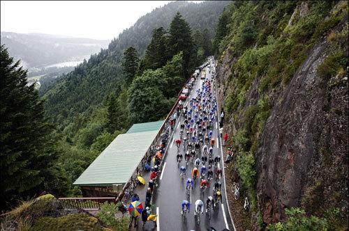 Vosges, Tour de France 2009, stage 13