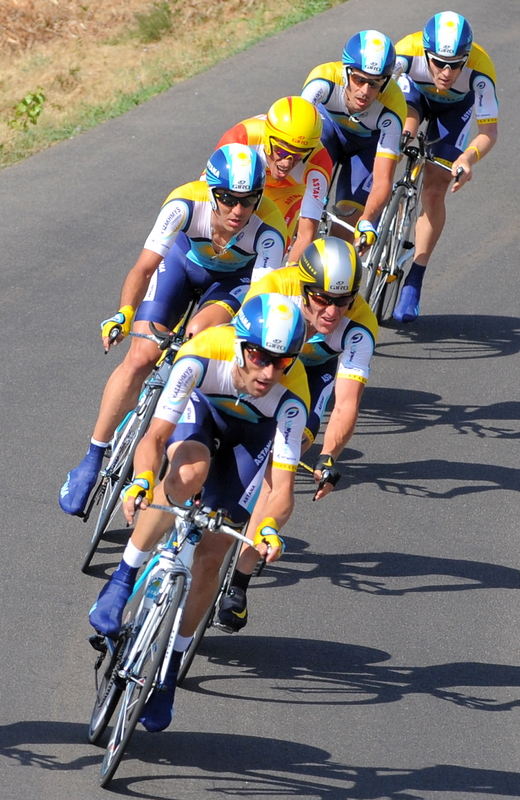 CYCLING-FRA-TDF-2009-TIME-TRIAL-MONTPELLIER-ASTANA