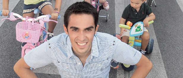 Alberto ContadorMe sentó fatal que no sonara el himno