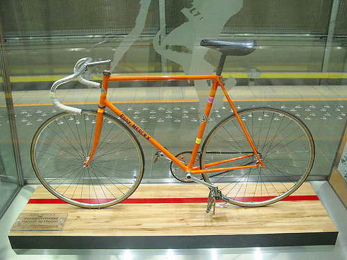 Eddy Merckx's 1972 Hour Record bicycl