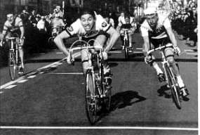 Merckx wins his first Milan-San Remo 1966