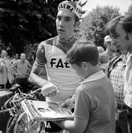 Faema's __Eddy Merckx _ in _1969