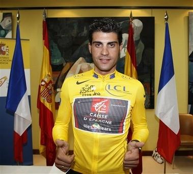SPAIN CYCLING TOUR OF FRANCE PEREIRO