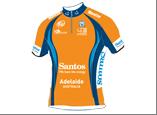 Santos Tour Down Under Ochre Leader's Jersey