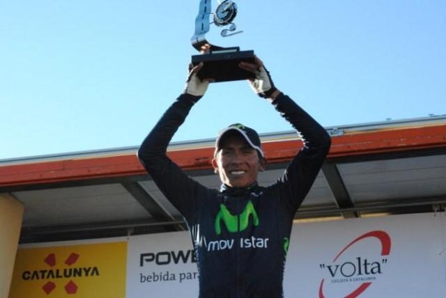 Победитель третьего этапа Вуэльты Каталонии - Наиро Кинтана. Photo by Pasados de Volta