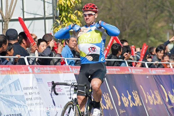 Александр Серебряков одерживает вторую победу на Озере Тайху. Фото  Mario Stiehl