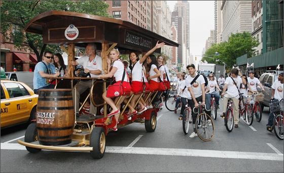 Amstel Lights Dutch Takeover of New York City