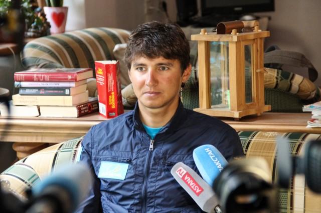 Велогонщик - Андрей Зейц