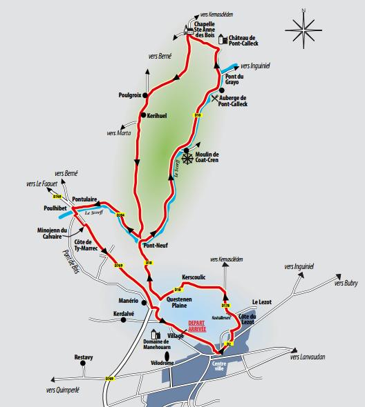 GP Ouest France - Plouay план