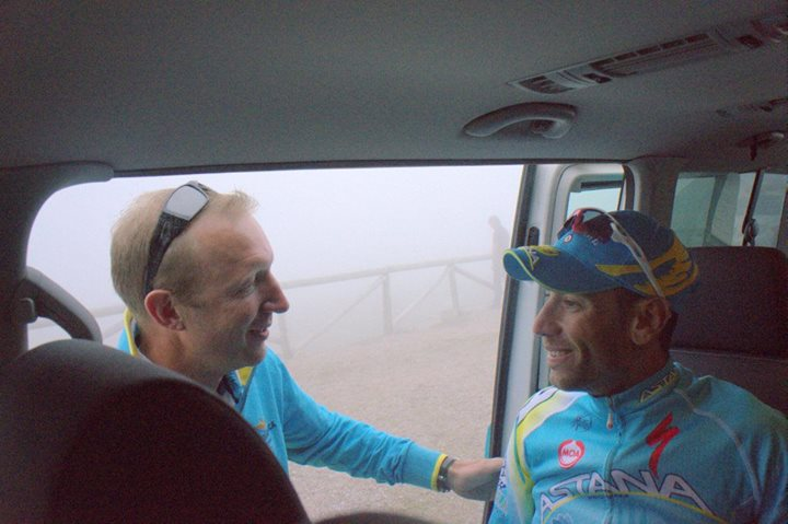Photo from Astana Pro Team Facebook page