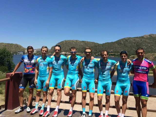 Photo from Vincenzo Nibali's twitter
