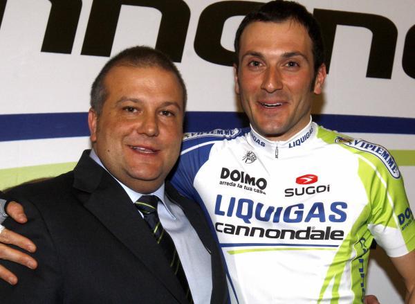 Паоло Слонго и Иван Бассо - Photo Bettini