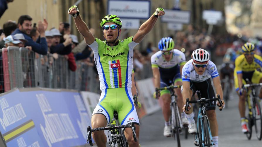 Tirreno - Adriatico 2014, Stage 3, Peter Sagan. Photo: www.gazzetta.it