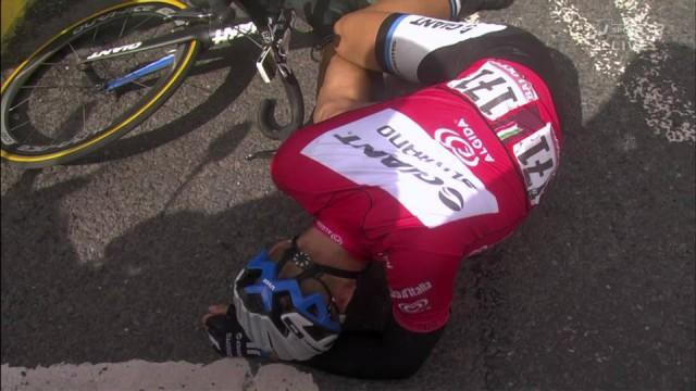 Киттель сразу после победного финиша