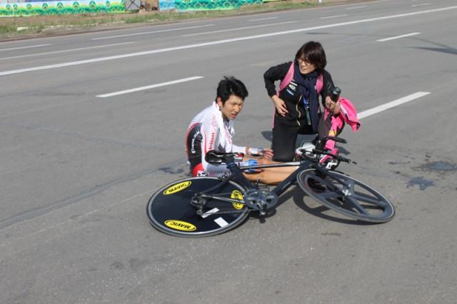 Третий призёр гонки