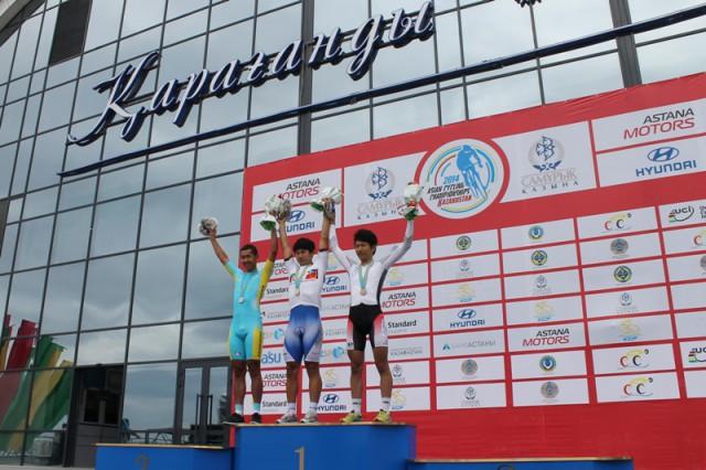 Алишер Жумакан — призёр чемпионата Азии