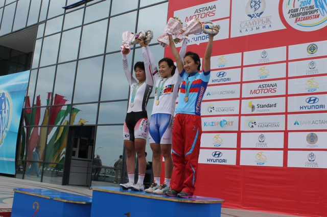 Тройка призёров.