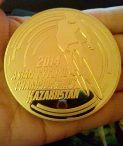 Медаль ЧА1