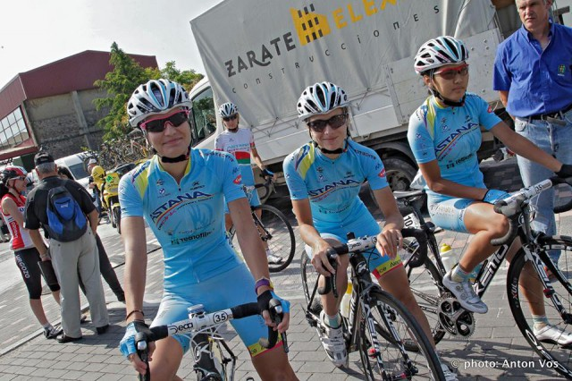Photo from Astana BePink Women Team facebook page
