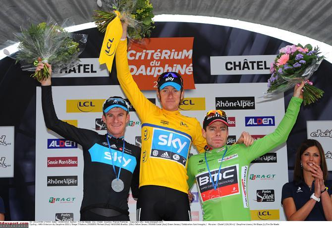 Подиум Дофина может быть очень похожим на подиум Тур де Франс. Photo: © Tim de Waele/TDW Sport