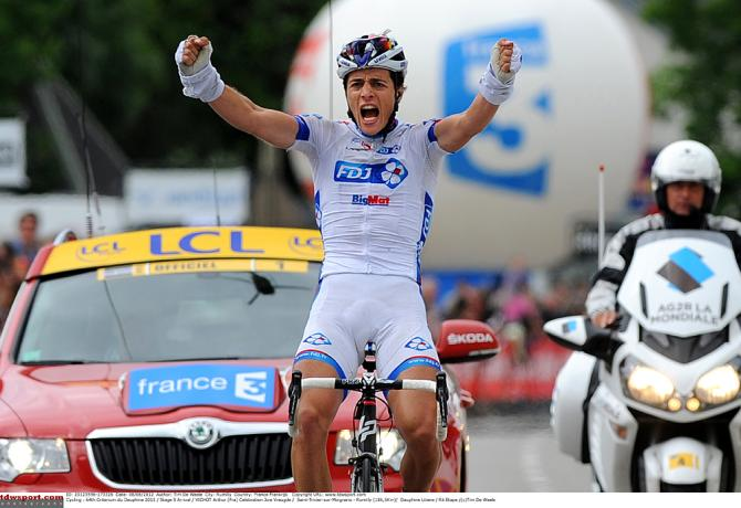 Молодые гонщики, вроде Артура Вишо могут выиграть из отрыва. Photo: © Tim de Waele/TDW Sport