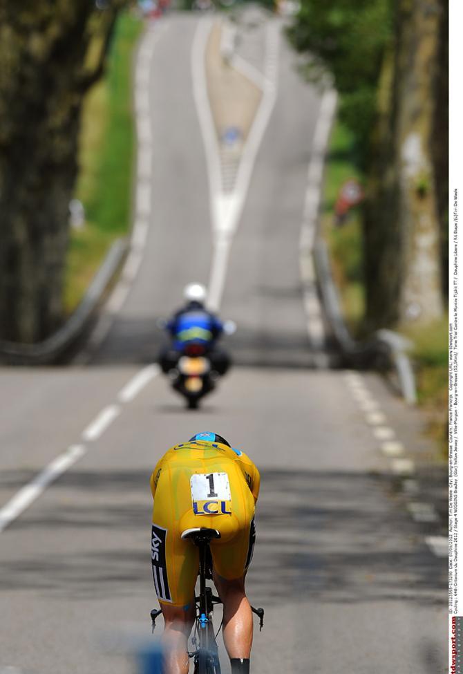 Часто разделка является решающей на Дофине. Photo: © Tim de Waele/TDW Sport