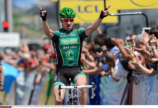 Если Томас Феклер заметен на Дофине, то заметен и на Туре. Photo: © Tim de Waele/TDW Sport