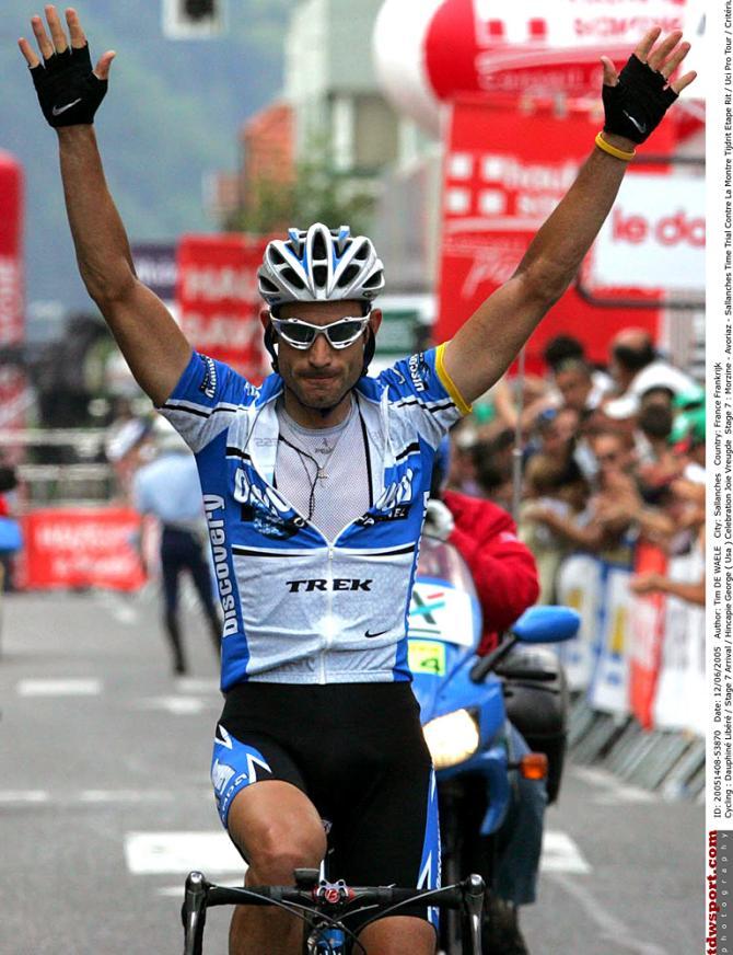 Джордж Хинкепи выиграл этап в 2005. Photo: © Tim de Waele/TDW Sport