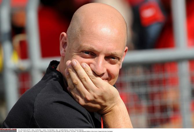 Босс команды Скай Дейв Брейсфолд срежиссировал три прошлые победы на Дофине. Photo: © Tim de Waele/TDW Sport
