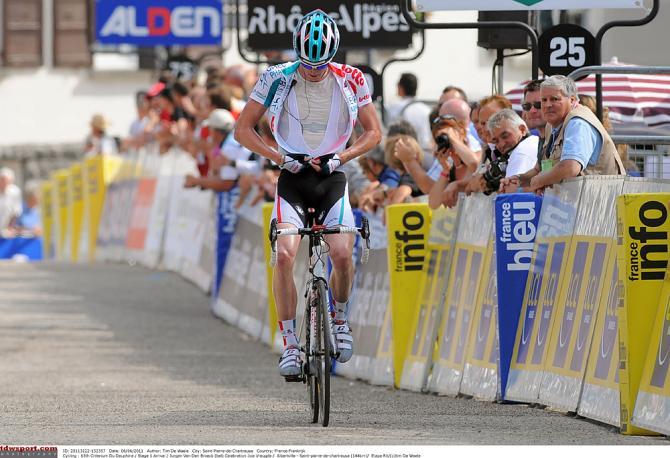 Застегнуться! Юрген Ван Ден Броек в 2011. Photo: © Tim de Waele/TDW Sport