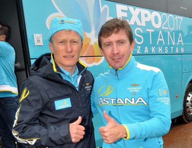Photo: Dominique Becart, Astana Pro Team